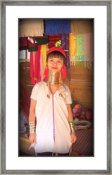 Cultural Beauty Framed Print by Satya Winkelman