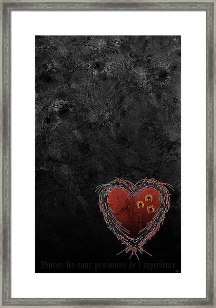 Cupid's Upgrade Framed Print