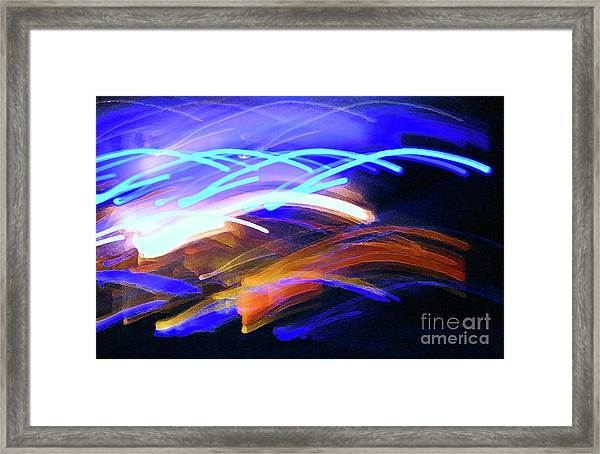 Curvaceous Color Framed Print