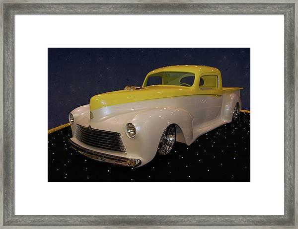 Custom Hudson Pickup Framed Print