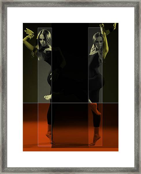 Dancing Mirrors Framed Print