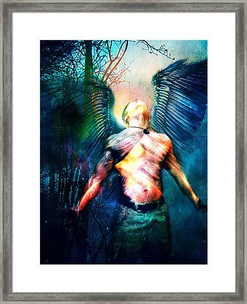 Dawning Angel Framed Print