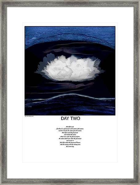Day Two Framed Print by Fred Leavitt