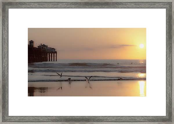 Day's End Framed Print