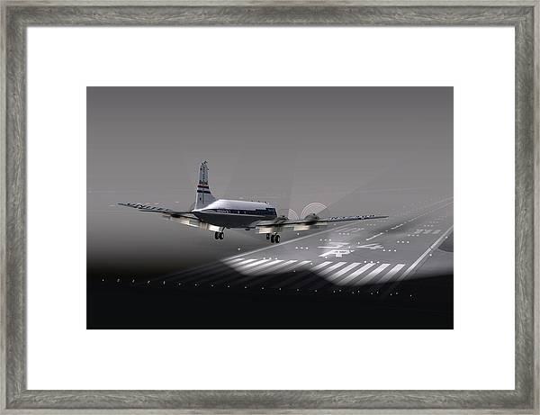 Dc6 Nite Final 17x11 Framed Print