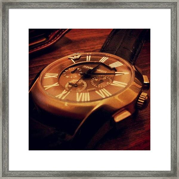 Dead #watch Framed Print