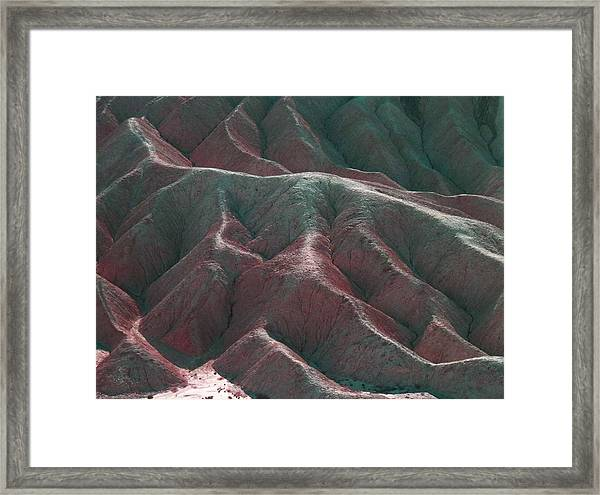 Death Valley Mountains 3 Framed Print by Naxart Studio