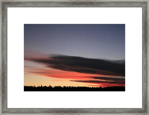 December Sunrise Framed Print