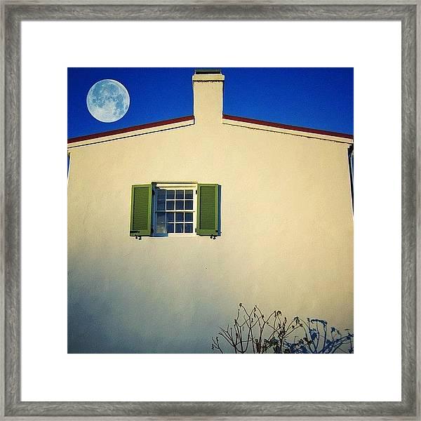 Deep Blue Allure Framed Print