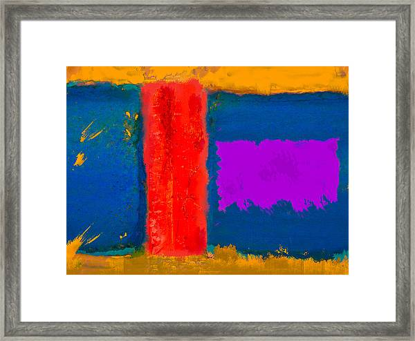 Deep End Of The Pool Framed Print