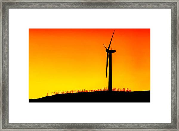 Desert Breezes Framed Print by Donna Pagakis
