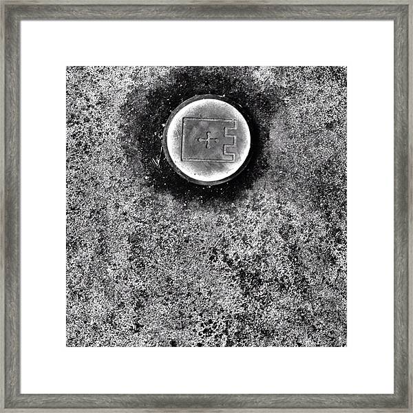 #detail #journey #texture #bnw Framed Print