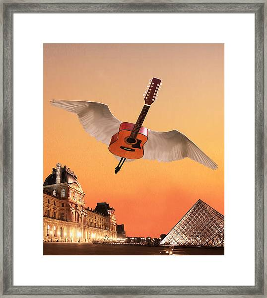 Didnt We Almost Have It All Framed Print