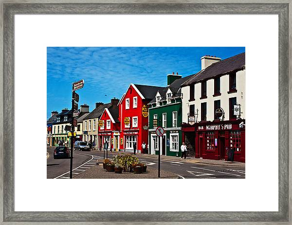 Dingle Bay Color Framed Print