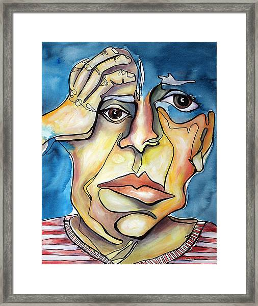 Disjointed Thought Framed Print