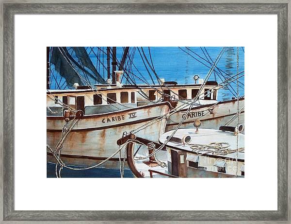 Dockside    Sold Prints Available Framed Print