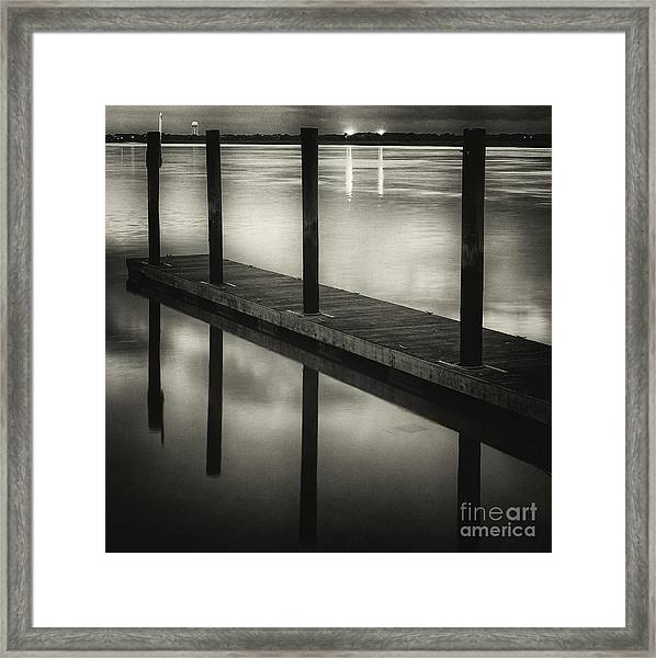 Dockside II Framed Print
