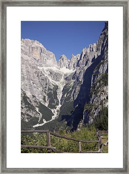 Dolomiti Di Brenta Framed Print