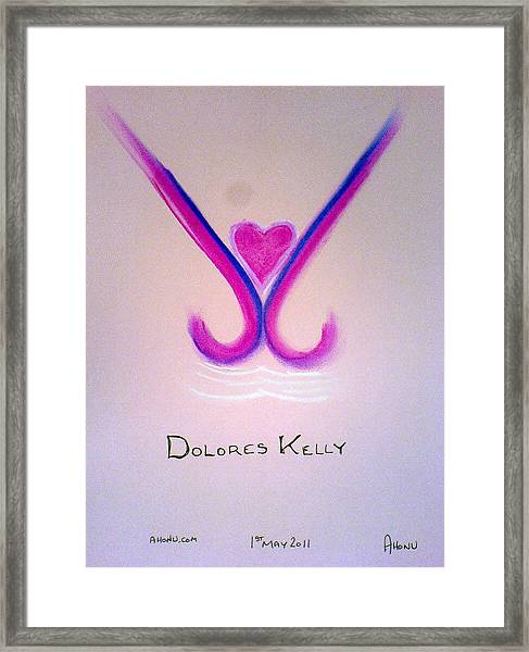 Dolores Kelly Framed Print