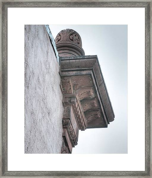 Dome Top Corner Framed Print