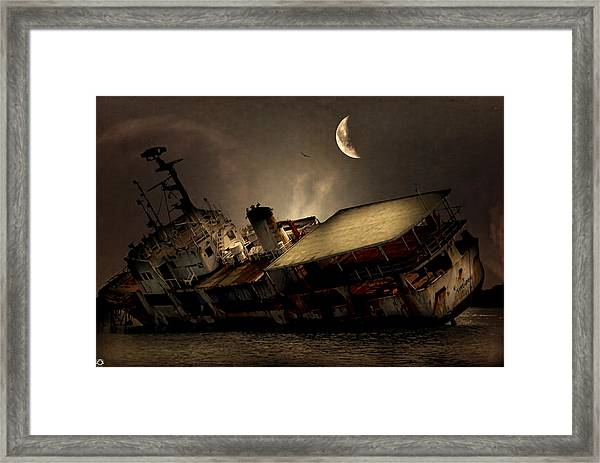 Doomed To Gloom Framed Print
