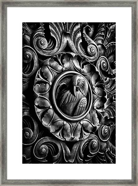 Door Detail 2 Framed Print