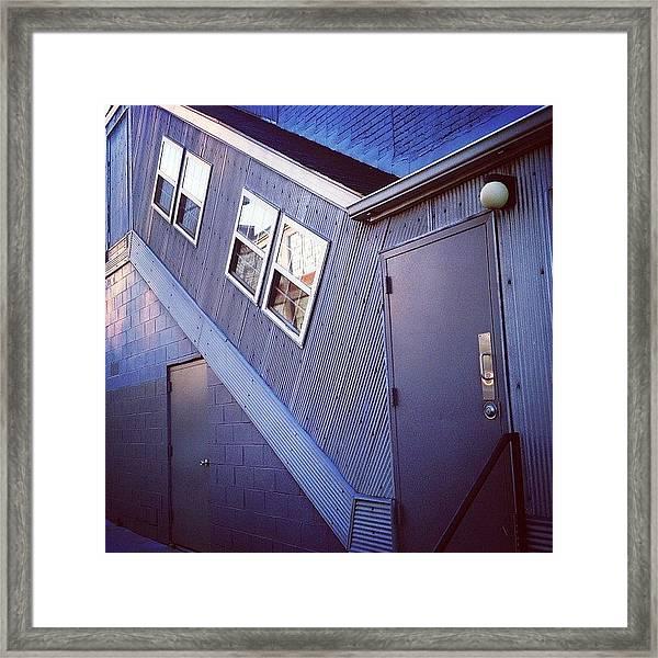 Doorscape Framed Print