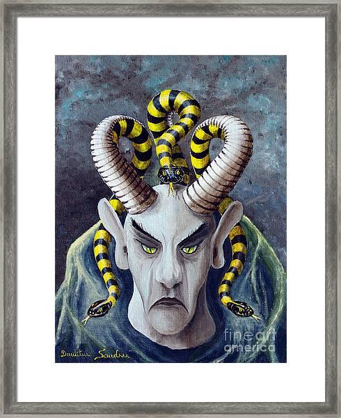 Dracu Mort From Arboregal Framed Print