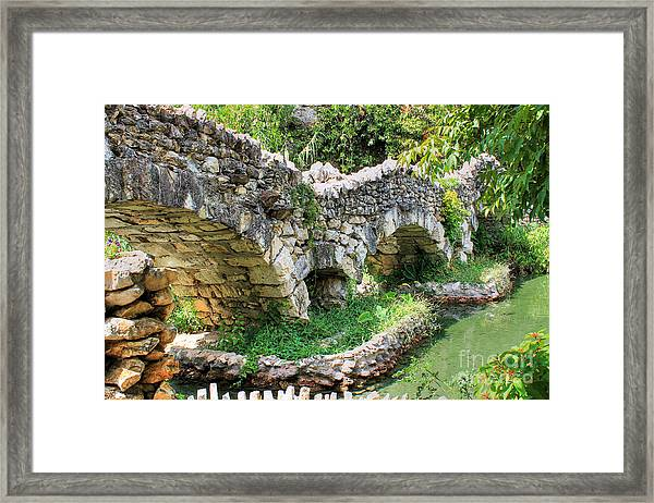 Dragon Bridge Framed Print