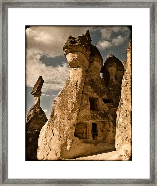 Pasabag Valley, Turkey - Dragon Rock Framed Print
