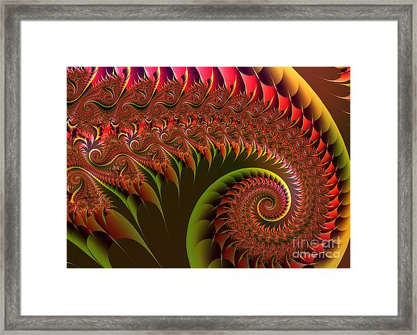 Dragon's Tail Framed Print