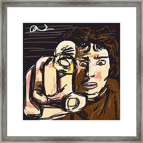 #drawsomethingdesigns #drawsomething Framed Print