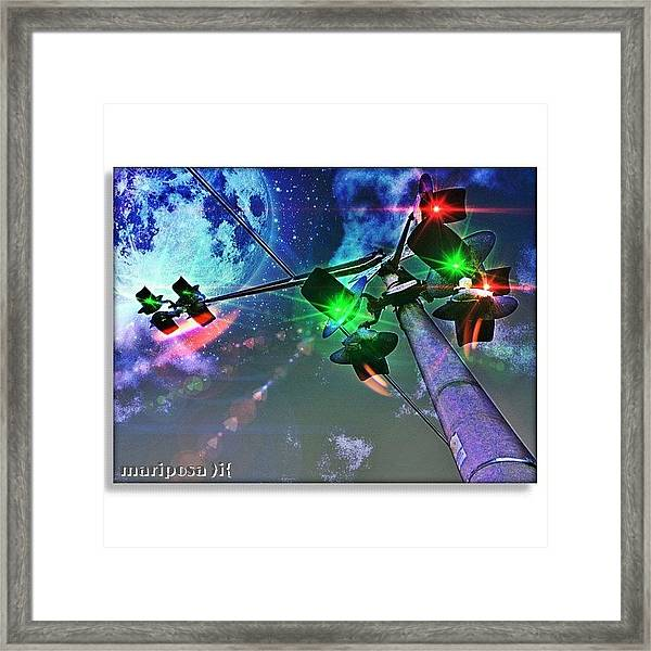 Dream Crossing Framed Print