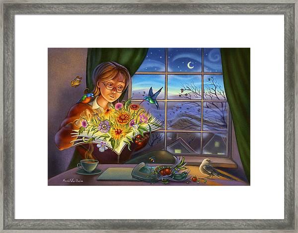 Dream Gardening Framed Print