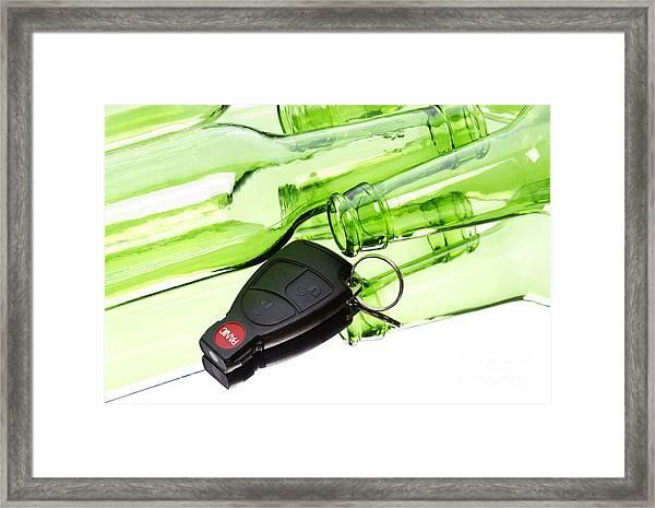 Drunk Driving Framed Print by Blink Images