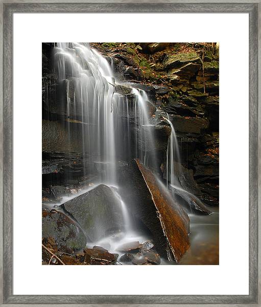 Dutchman Falls Framed Print by Dan Myers