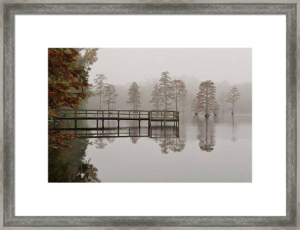 Early Morning On The Lake Framed Print