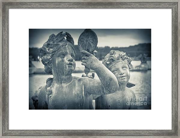 Earth Cherub Framed Print