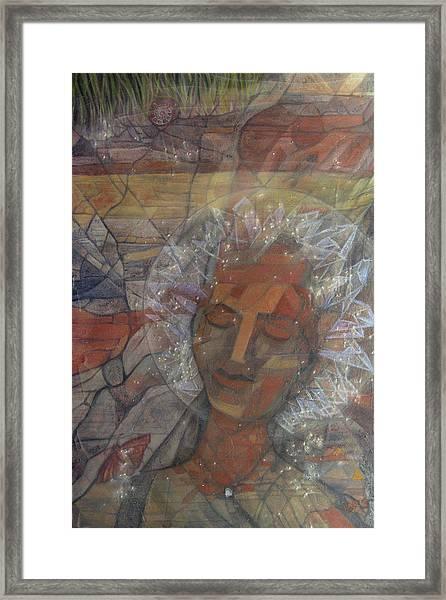 Earth Gaia Dream Framed Print