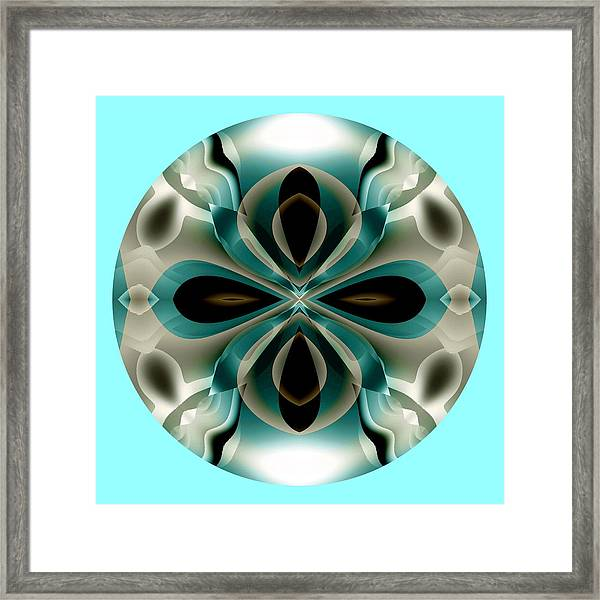 Framed Print featuring the digital art Easter by Visual Artist Frank Bonilla