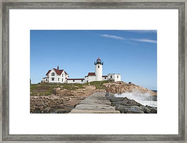 Eastern Point Lighthouse Framed Print
