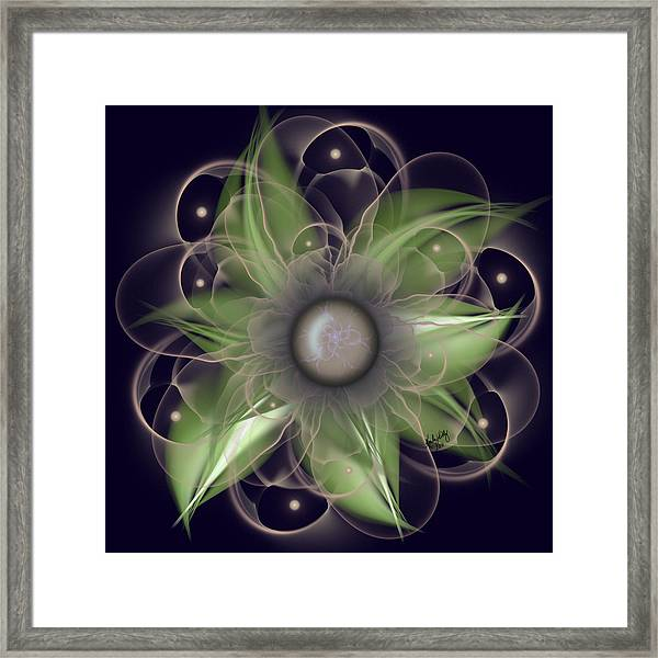 Echo Of Romance Framed Print