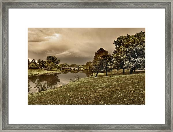 Eery Day Framed Print