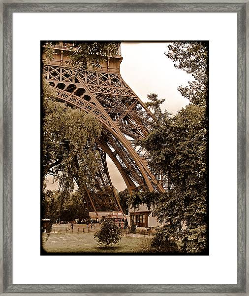 Paris, France - Eiffel Framed Print