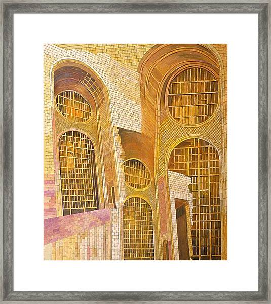 Eighth In Att Series Framed Print