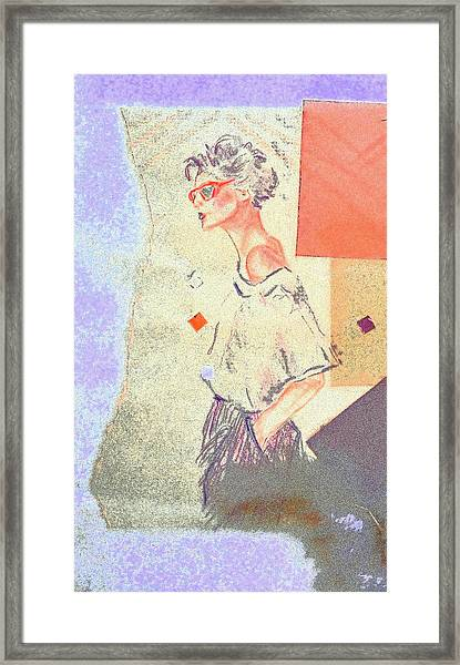 Eighties Framed Print