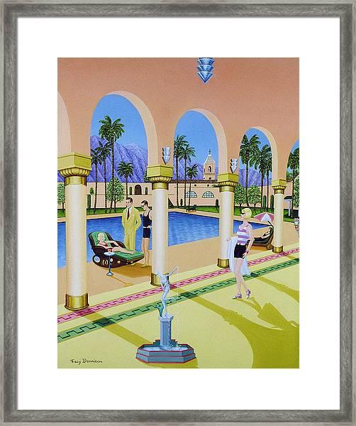 El Miradol Hotel Framed Print
