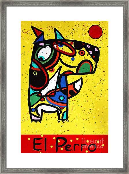 El Perro Framed Print