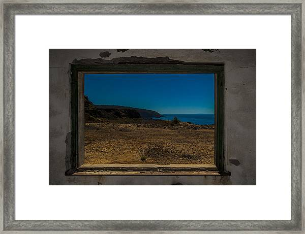 Elba Island - Inside The Frame - Ph Enrico Pelos Framed Print