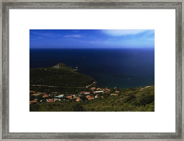 Elba Island - Lovers Beach Dreamscape - Ph Enrico Pelos Framed Print